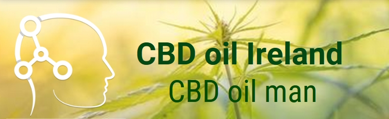 CBD oil  buy online Ireland | CBD oil man Logo